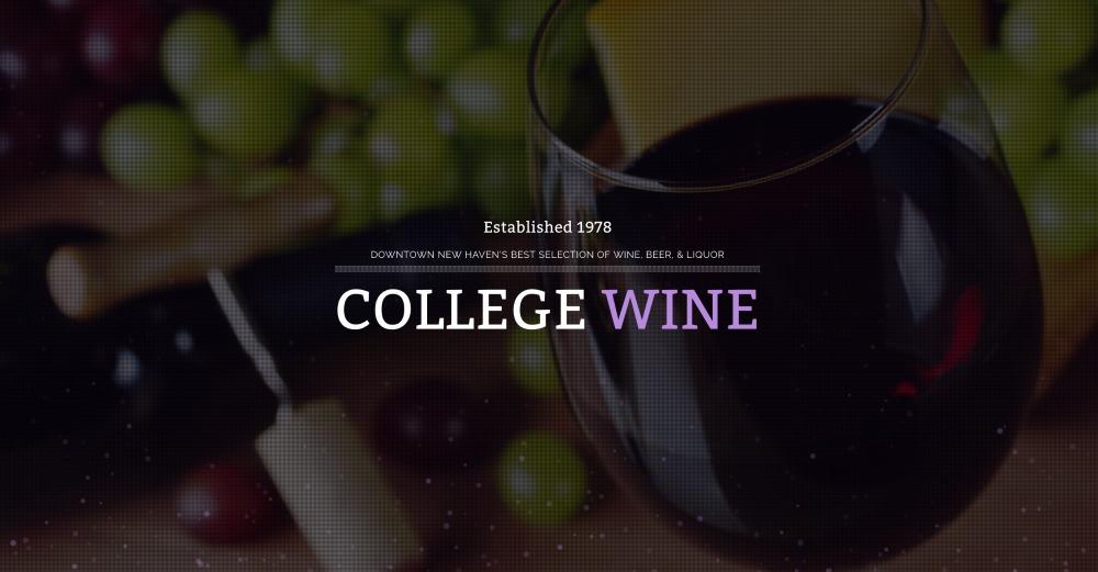 College Wine