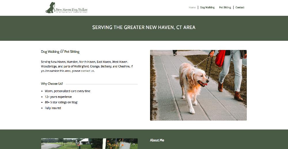 New Haven Dog Walker
