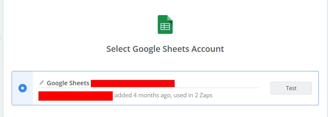 GoogleSheetsAccount