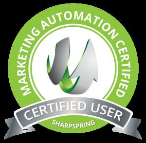Certified SharpSpring User