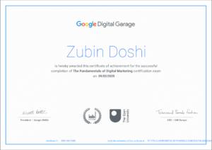 Fundamentals of Digital Marketing (Google Digital Garage)